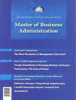 Master of Business Administration - 2011 - 4