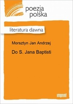 Do S. Jana Baptisti