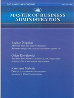 Master of Business Administration - 2009 - 2