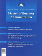 Master of Business Administration - 2011 - 2