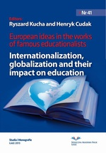 European Ideas in The Works of Famous Educationalists. Internationalization, globalization and their impact on education