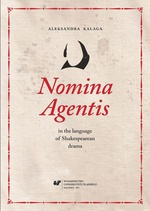 Nomina Agentis in the language of Shakespearean drama