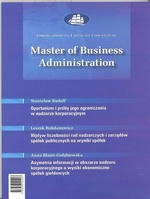 Master of Business Administration - 2010 - 3