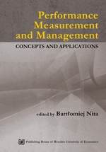 Performance Measurement and Management. Concepts and applications