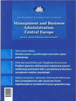 Management and Business Administration. Central Europe - 2012 - 4