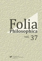 Folia Philosophica. Vol. 37 - 01 Patocka and English sensualism and its place in modern philosophy