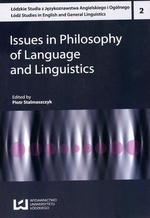 Issues in Philosophy of Language and Linguistics