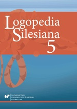"""Logopedia Silesiana"" 2016. T. 5 - 02 The Initial Stage of Rehabilitation of a Child after Cochlear Implantation – Four Sessions of Activities with a Surdo-Teacher"
