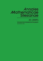 Annales Mathematicae Silesianae. T. 23 (2009) - 02 Exploring the World with Mathematics