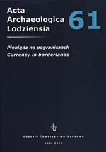 Acta Archaeologica Lodziensia t. 61/2015